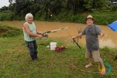 Pescadores Amilton Soares e Mario Borgonha