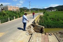 Ponte do bairro Dom Joaquim