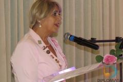 Aglaê Nazário de Oliveira representou no ato a entidade nacional