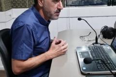 Presidente do Sinseb, Orlando Soares Filho, no Jornal da Diplomata