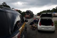 Carro roubado de Brusque é localizado clonado em ação das polícias de SC e PR; três pessoas foram presas