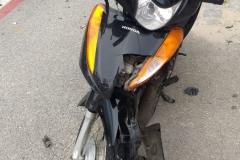 Acidente registrado na Rua Blumenau