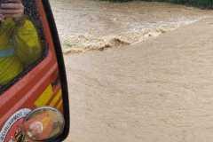 Chuva forte causa transtornos em Brusque