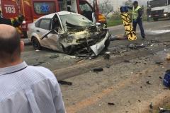 Acidente mata uma pessoa e deixa duas feridas (Imagem/divulgação)