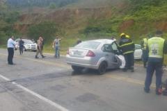 Acidente mata uma pessoa e deixa duas feridas (Foto: Diplomata FM)