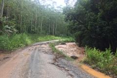 Duas pontes são levadas em Botuverá após forte chuva na madrugada