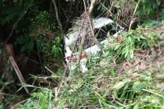 Um acidente envolveu três veículos em Guabiruba, na manhã deste domingo, 5.
