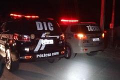 Operação policial prende duas pessoas por tráfico em Brusque (Divulgação/PM e Polícia Civil).