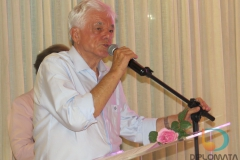 Prefeito de Brusque, Dr. Jonas Oscar Paegle, foi uma das autoridades presentes no evento