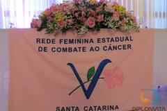 Rede Feminina de Combate ao Câncer realizou evento de posse na noite desta terça-feira, 29 de janeiro