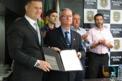 Realizada posse de permanência do Delegado Regional Fernando de Faveri