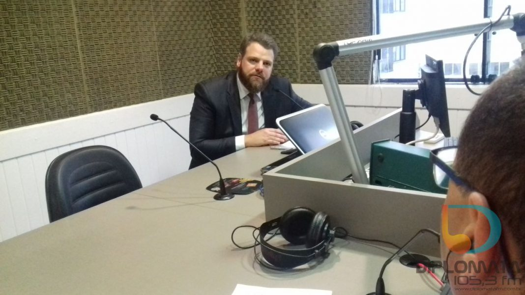 Renato Munhoz, no Jornal da Diplomata