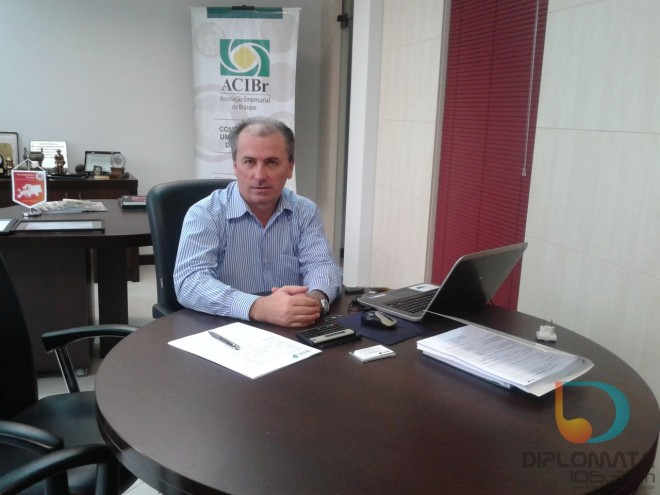 Nivaldo Presalino Vieira, consultor do BRDE