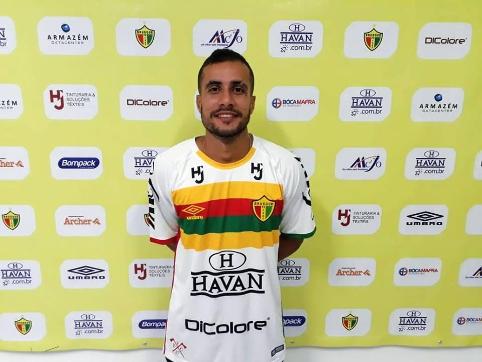 Francisco Hasley Sousa e Silva, o Maranhão, reforço para 2019 do Brusque FC.