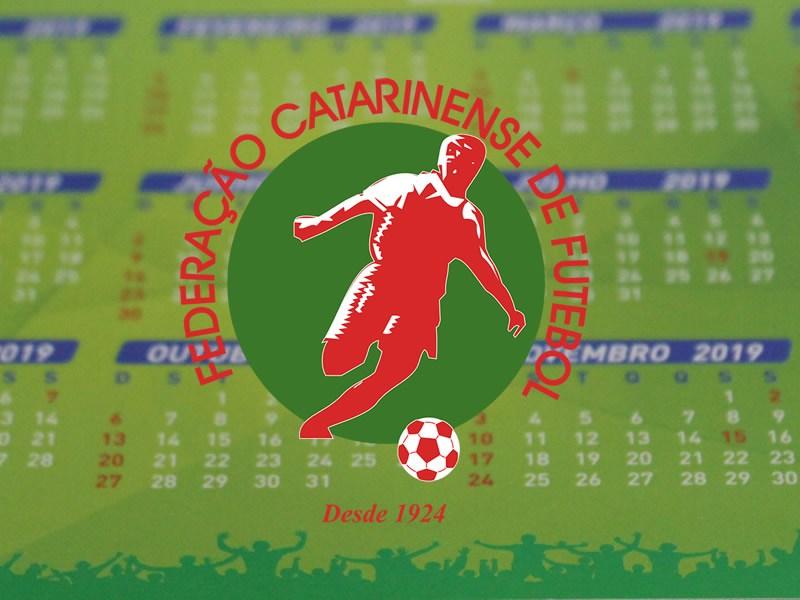 Calendário Federação Catarinense de Futebol