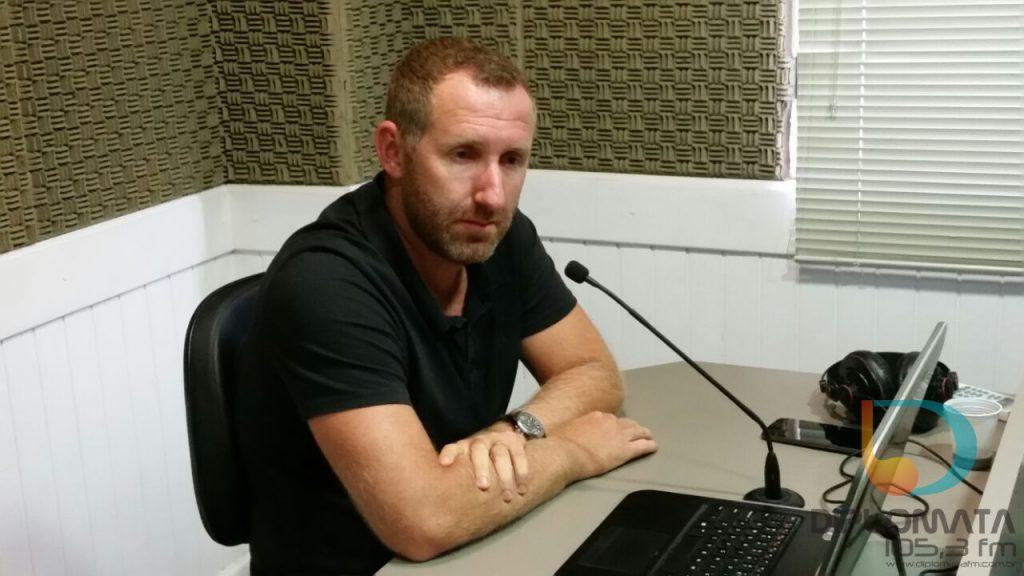 Paulinho Sestrem no Jornal da Diplomata