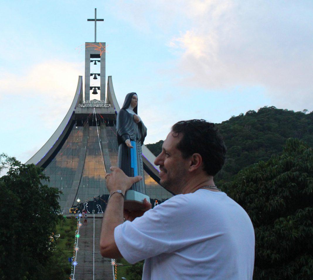 Peregrinação Noturna para Santa Paulina acontece na sexta-feira dia 11 de janeiro no Santuário