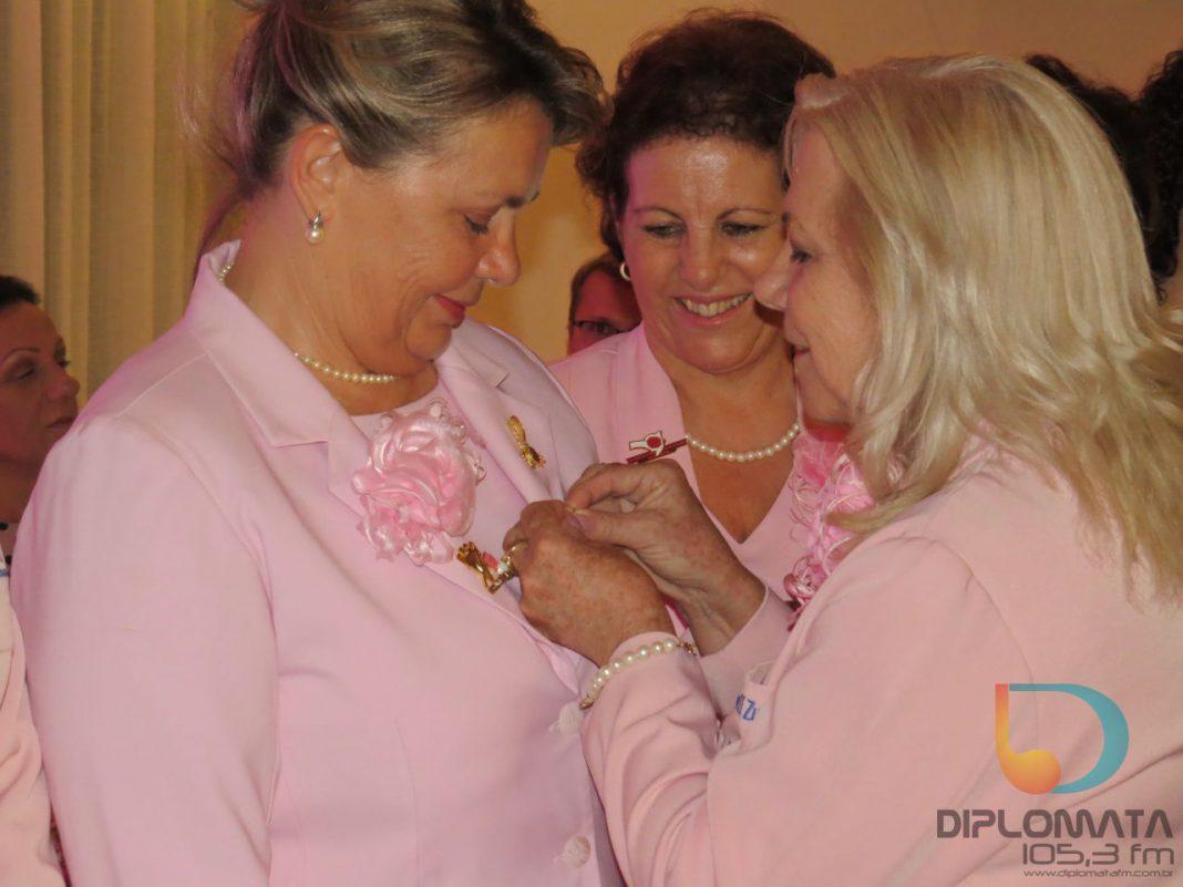 Rede Feminina de Combate ao Cancer empossou nova diretoria estadual e apresentou sua nova diretoria local (8)