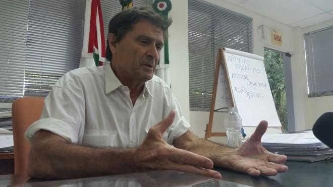 Roberto Bolognini, diretor presidente do SAMAE de Brusque