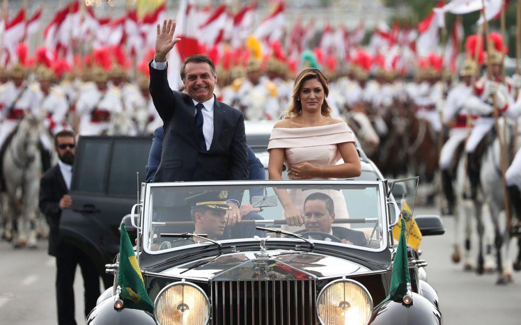 Jair Bolsonaro assume a presidência do Brasil