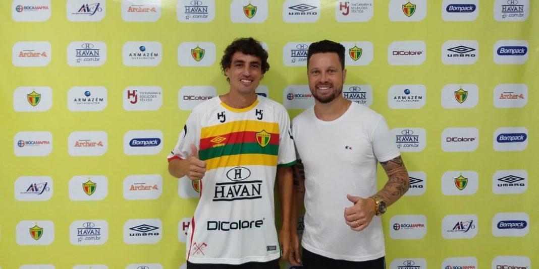 Clebinho, reforço do Brusque FC para 2019