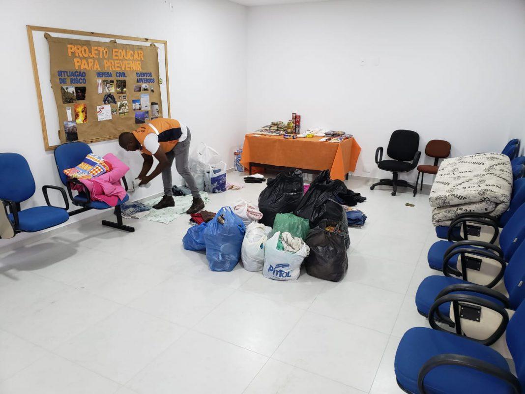 Primeiras doações para Brumadinho (MG) começam a chegar na Defesa Civil de Brusque
