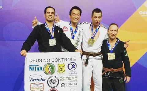 Atleta brusquense conquista terceira medalha no Campeonato Europeu de Jiu-Jitsu, em Portugal