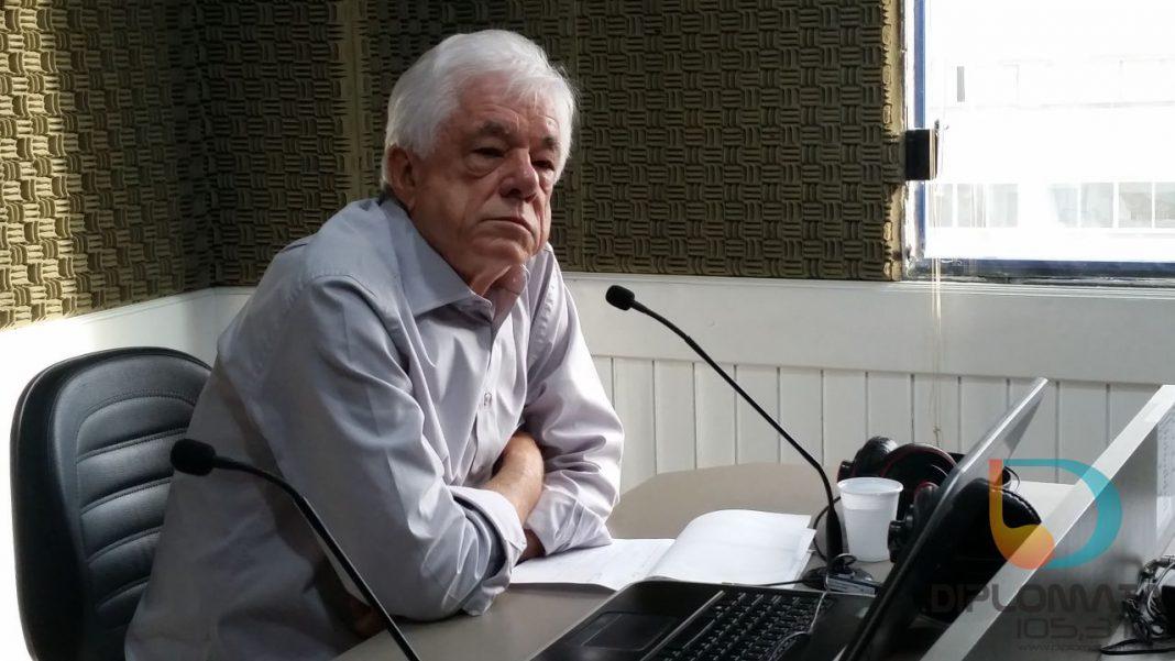 Prefeito de Brusque, Jonas Paegle, no Jornal da Diplomata