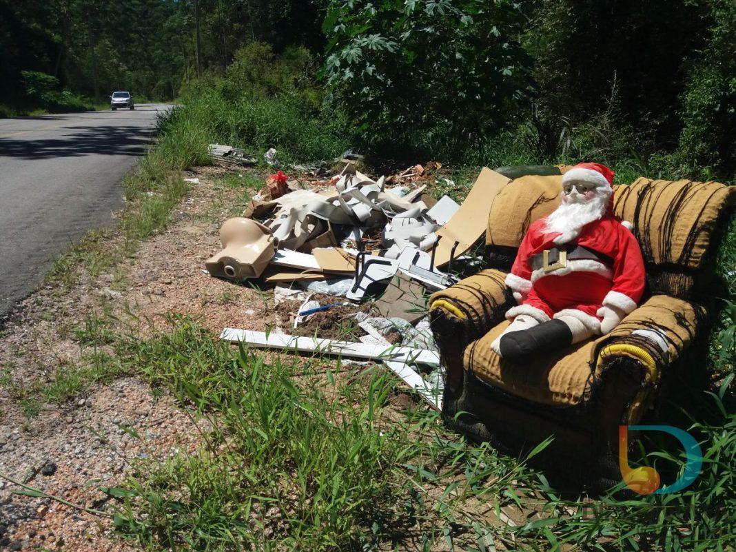 Descarte irregular de lixo