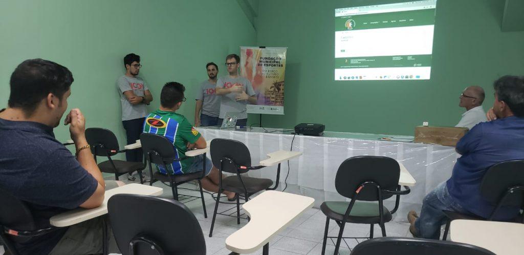 Reunião sobre o Municipal de Futebol Amador em 2019
