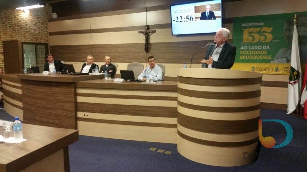 Primeira sessão da Câmara de Vereadores em 2019
