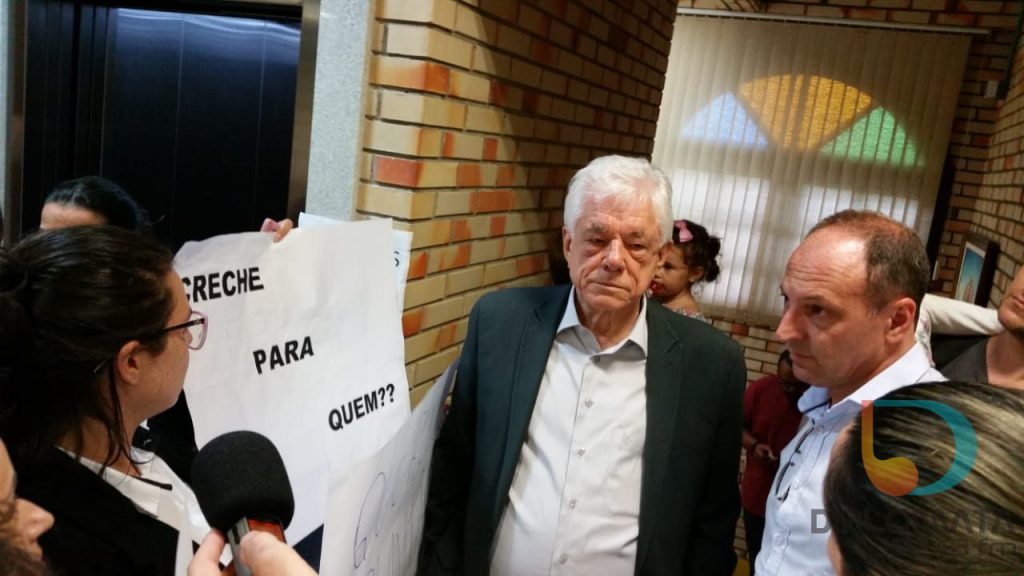 Prefeito Jonas Paegle na Câmara