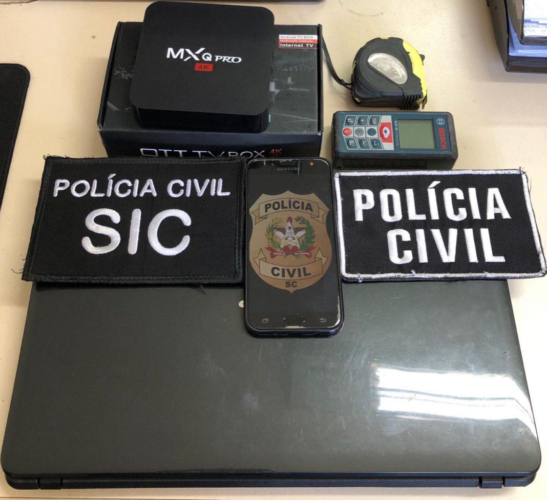 Polícia Civil recupera produtos furtados