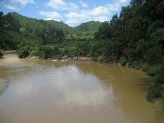 Rio Itajaí Mirim em Botuverá