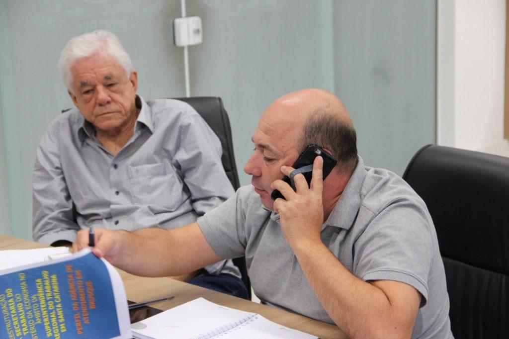 Servidores do Ministério do Trabalho lutam para evitar desativação da agência Brusque