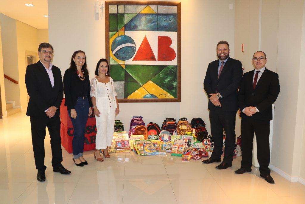 Diretoria OAB e Delegado CAASC