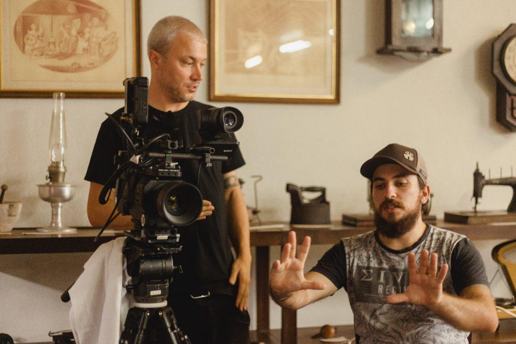 """Produção do documentário """"Time de Fábrica"""" pela Café Preto Filmes"""