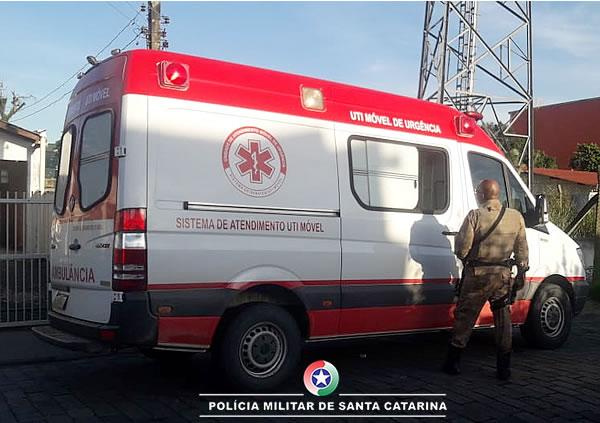 Ambulância Falsa