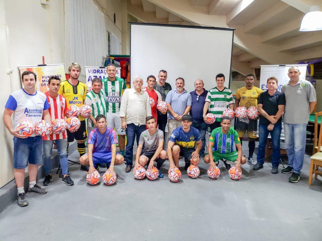Lançamento do municipal de futebol