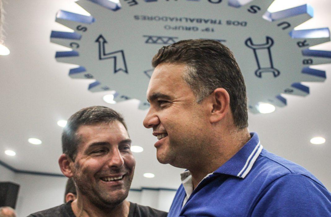 Eduardo de Souza é eleito presidente do Sintimmmeb