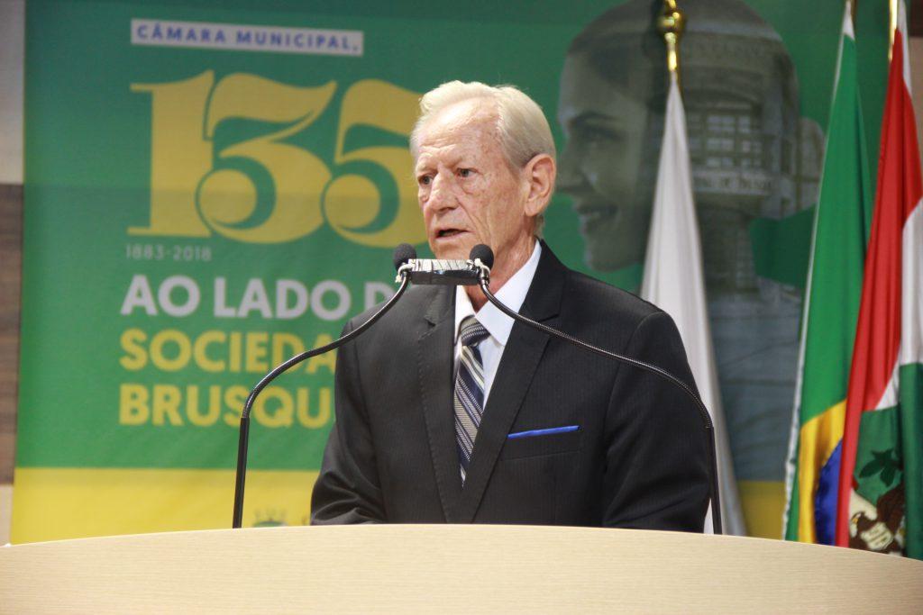 José Zancanaro na Câmara de Vereadores
