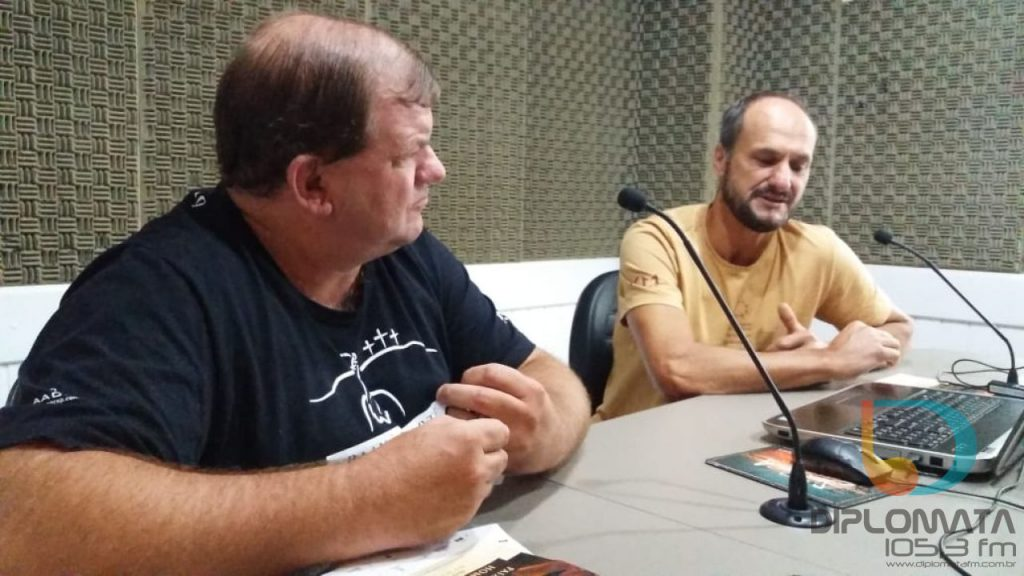 Marcelo Carminatti e Carlos Woitexen Filho