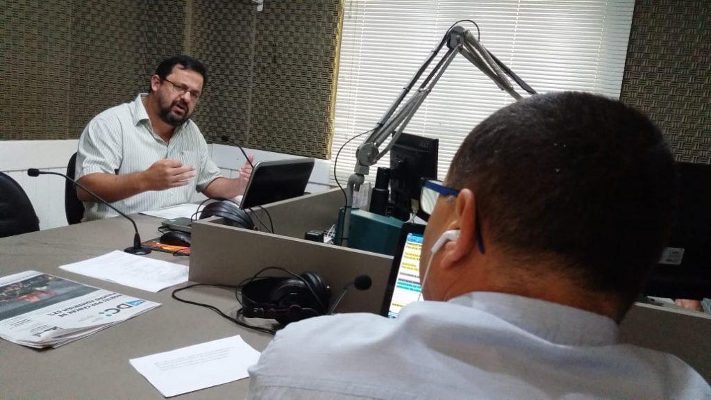 Molina no Jornal da Diplomata