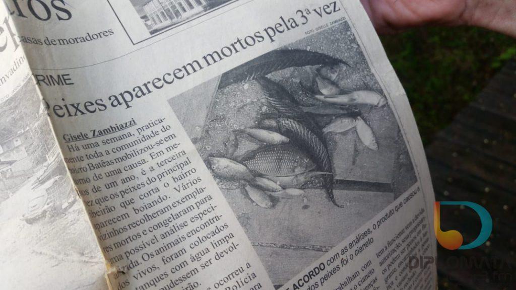 Reportagem Ribeirão Bateas