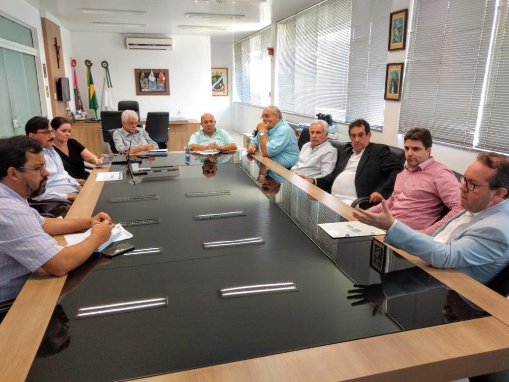 Reunião Hospital e Prefeitura