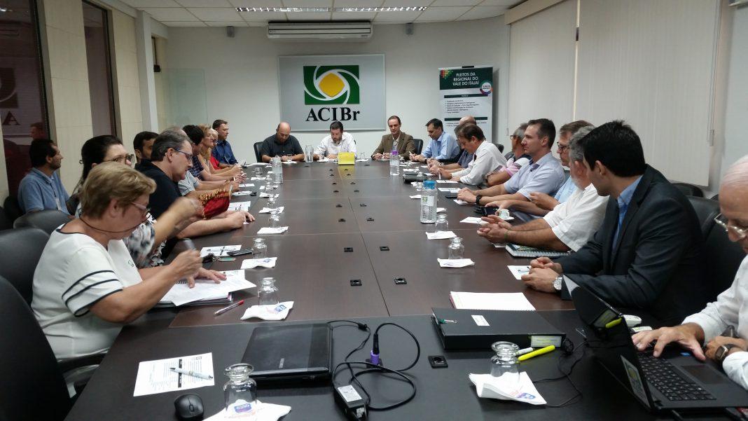 ACIBR reunião CELESC
