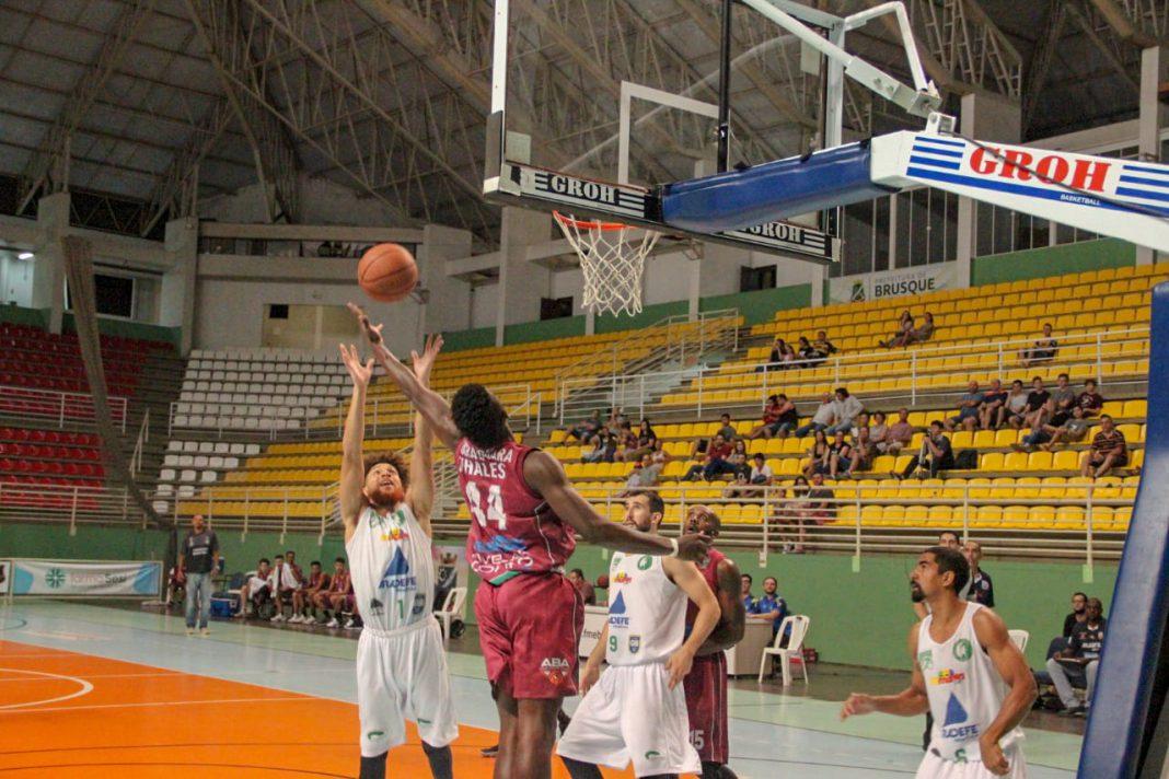 Brusque faz último jogo em casa no Brasileiro de Basquete Adulto