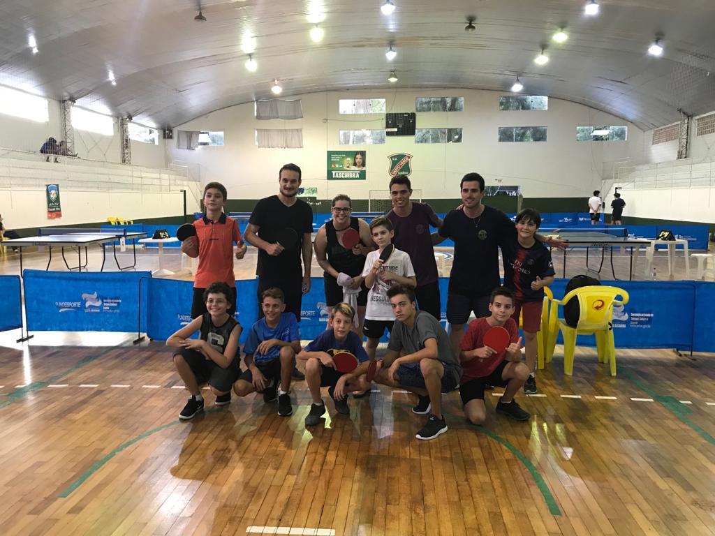 A equipe Brusquense de Tênis de Mesa – ABTM