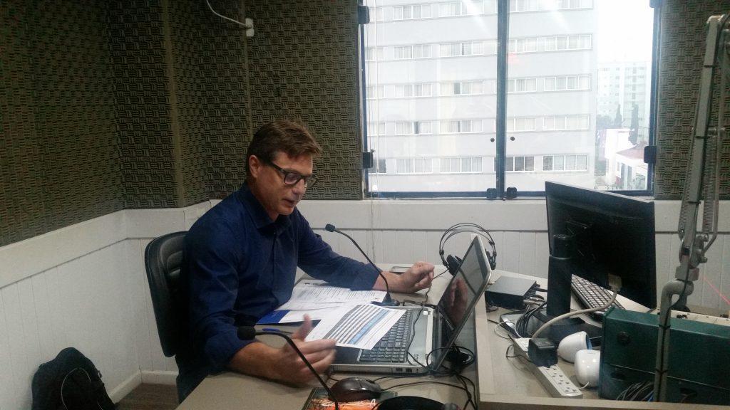 Presidente da CDL, Fabrício Zen, no Jornal da Diplomata