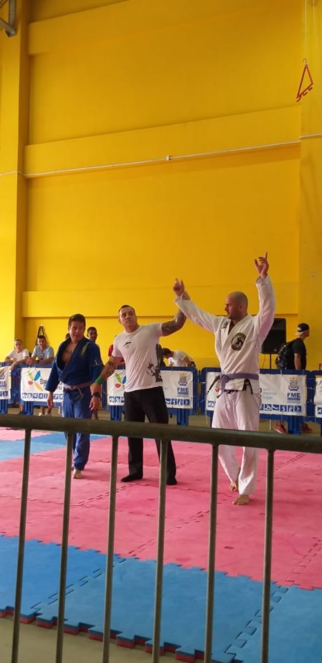Bombeiro Militar de Brusque conquista título no 1º Desafio de Jiu-Jitsu